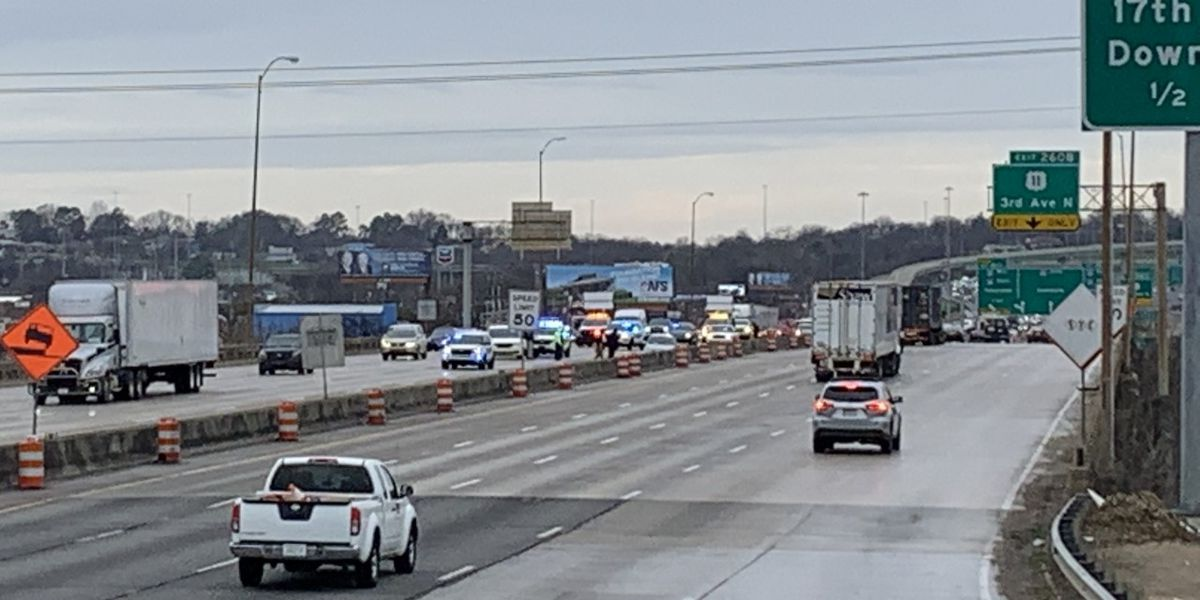 Birmingham PD: 2 people shot on I-65 South, possible targeted