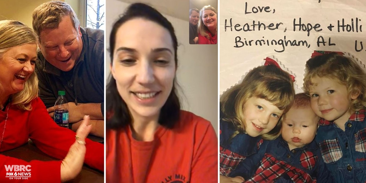 Christmas shoebox recipient surprises AL family who sent her 'life-changing' gift