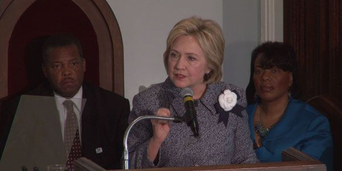 Clinton speaks at bus boycott anniversary event in Montgomery