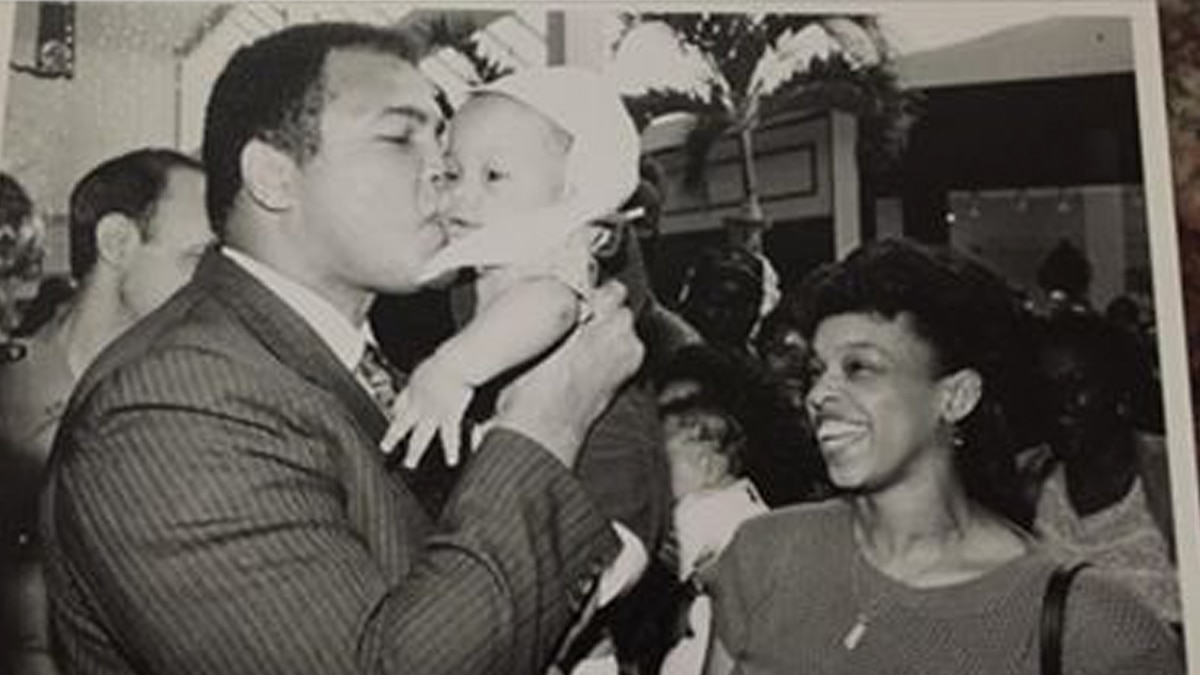La. man hopes social media can find family in precious photo with Muhammad Ali