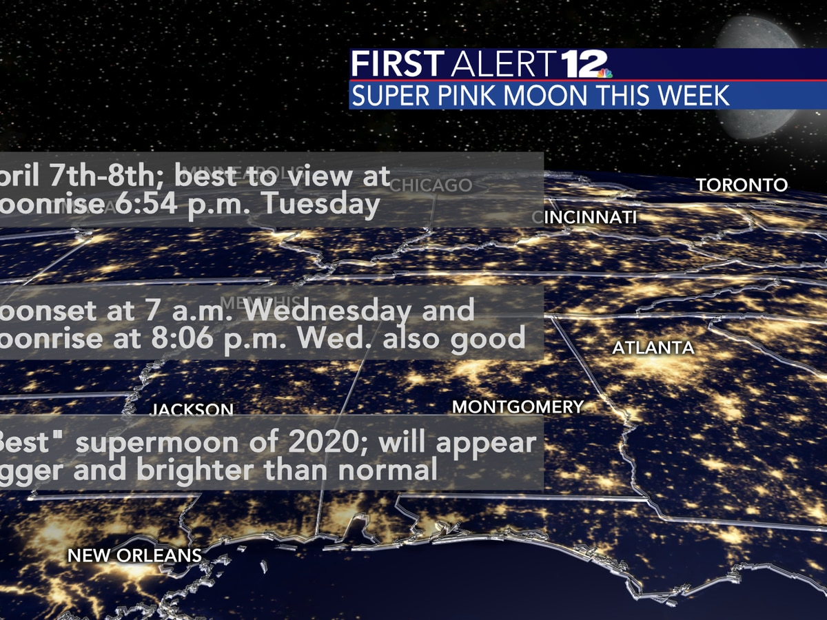 Full Pink Supermoon: Get ready for the biggest, brightest supermoon of 2020