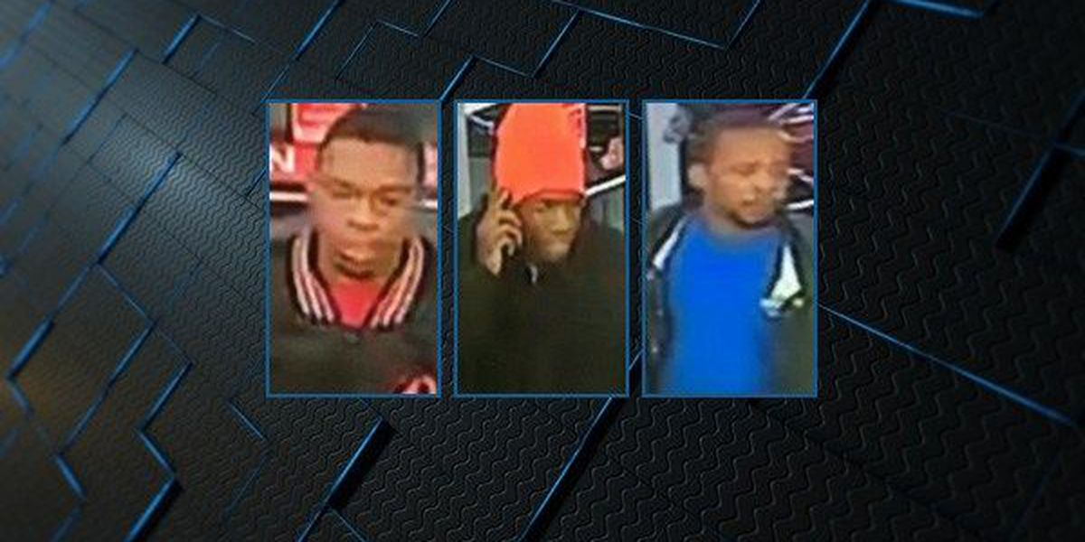 3 suspects wanted for robbery of Montgomery business