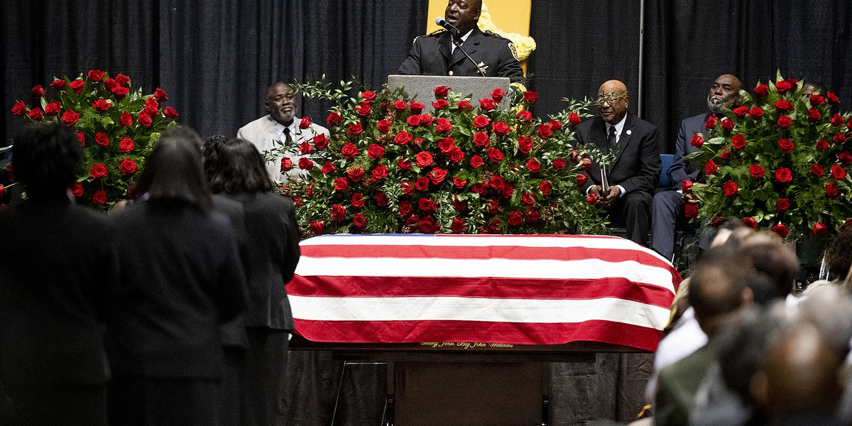PHOTO GALLERY: Sheriff 'Big John' Williams' funeral
