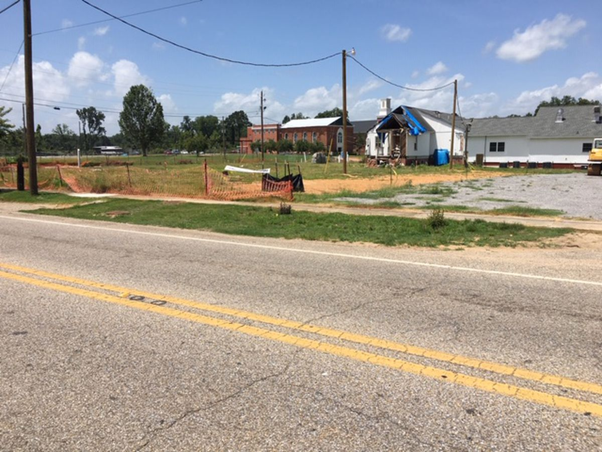 Construction begins on church destroyed by Wetumpka tornado