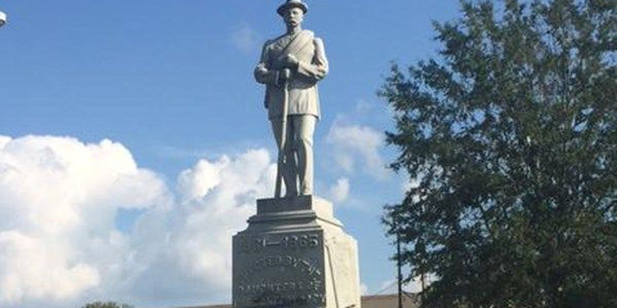 Confederate monument vandalized in Tuskegee