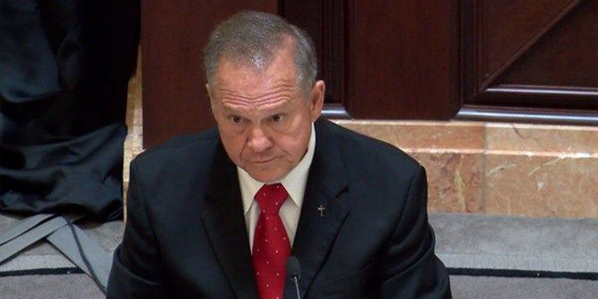 Suspended Chief Justice Roy Moore reportedly asked to vacate his office