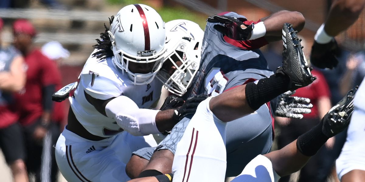 Defense rules the day in Troy spring game