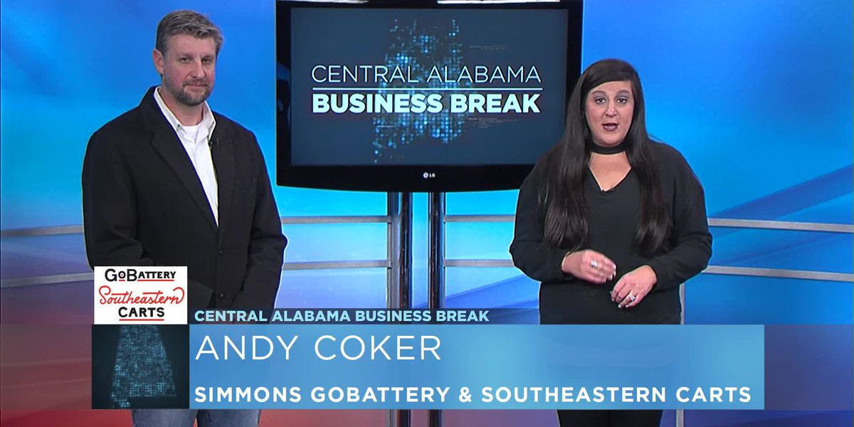 Central Alabama Business Break- Simmons GoBattery & Southeastern Carts
