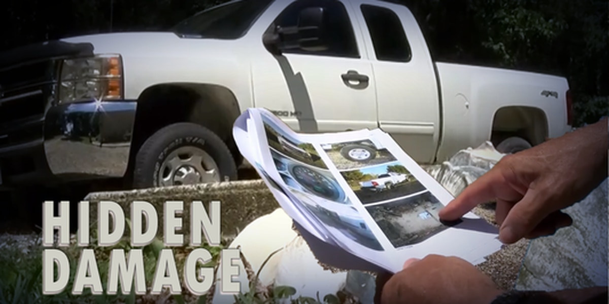 Hidden Damage: Wrecked, flooded border patrol truck sold at dealership without damage declared
