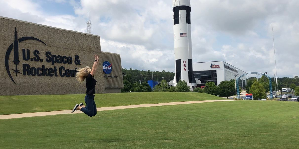 Sally's Adventures: U.S. Space and Rocket Center