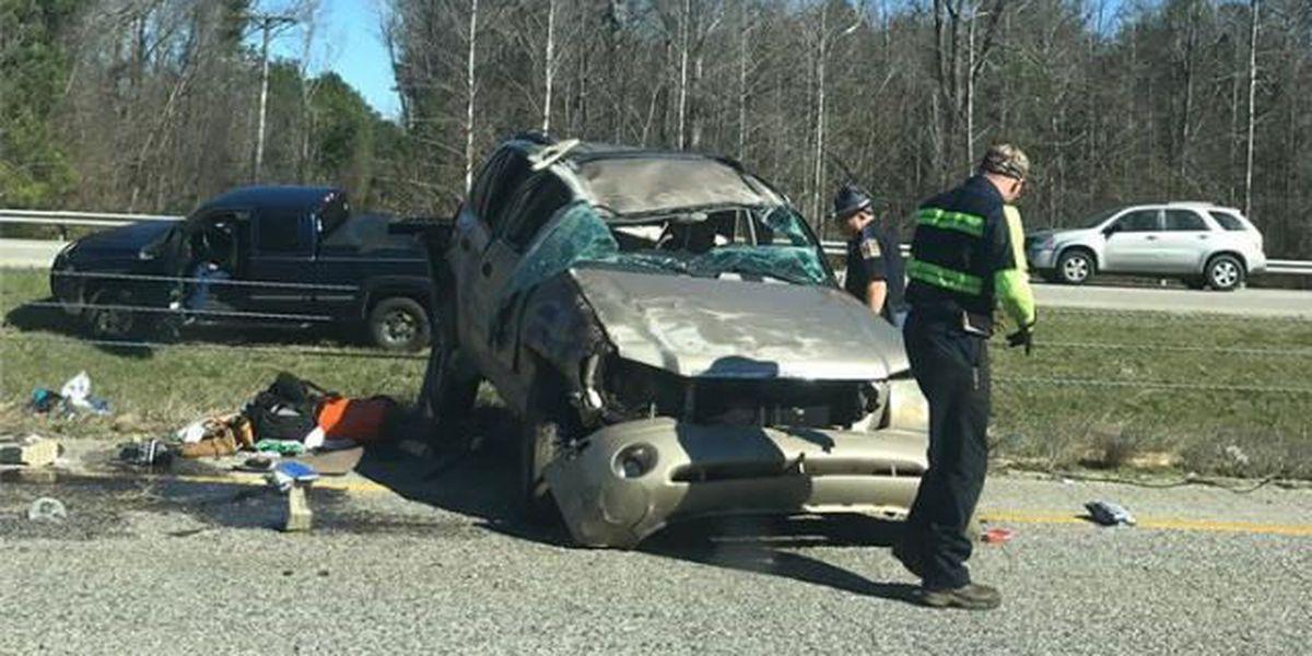 I-65 clear near Verbena after crash