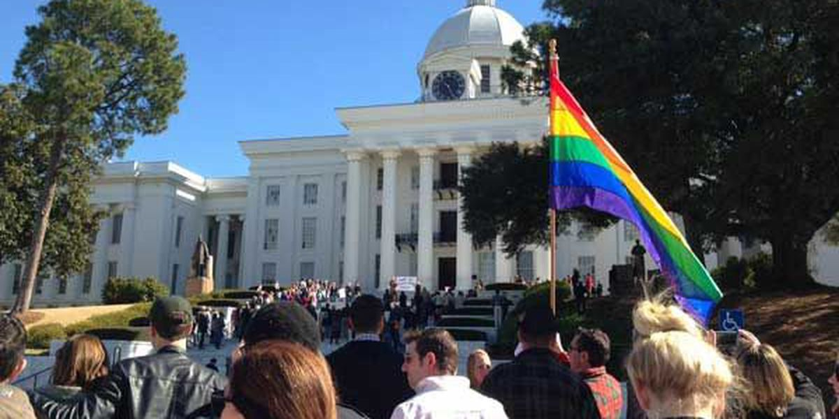 Photographs, videos, clothing from AL same-sex rallies to be donated