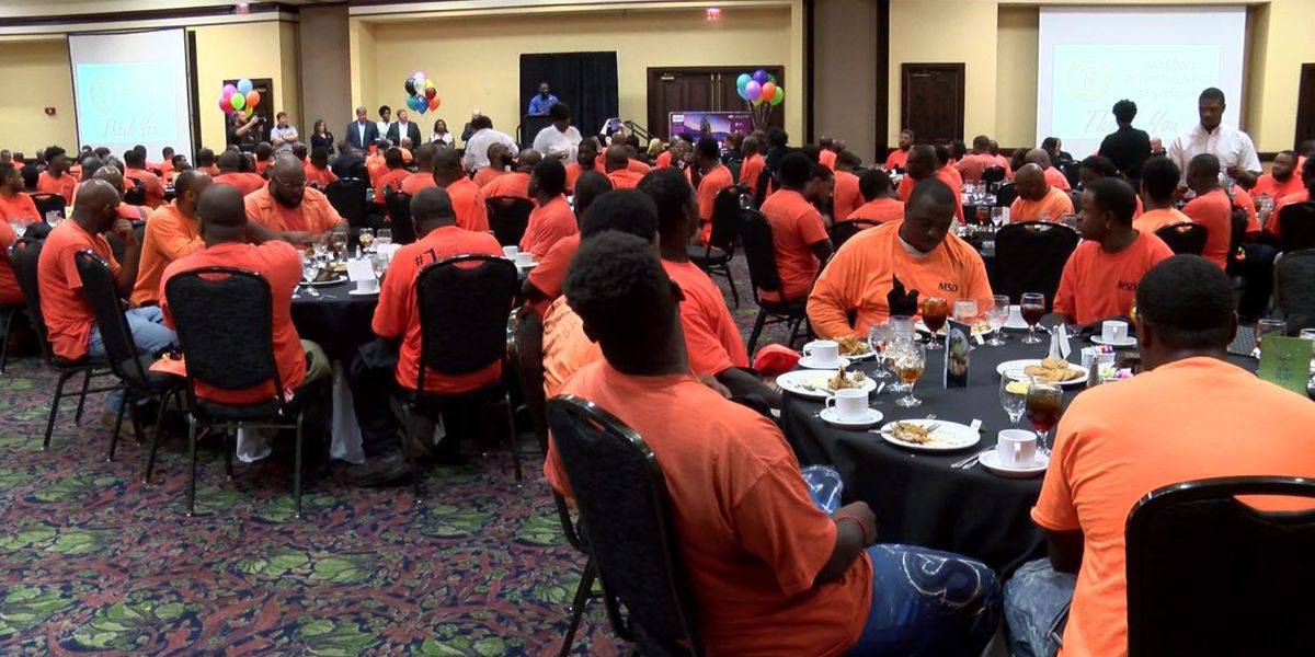 Montgomery's sanitation workers surprised with appreciation lunch