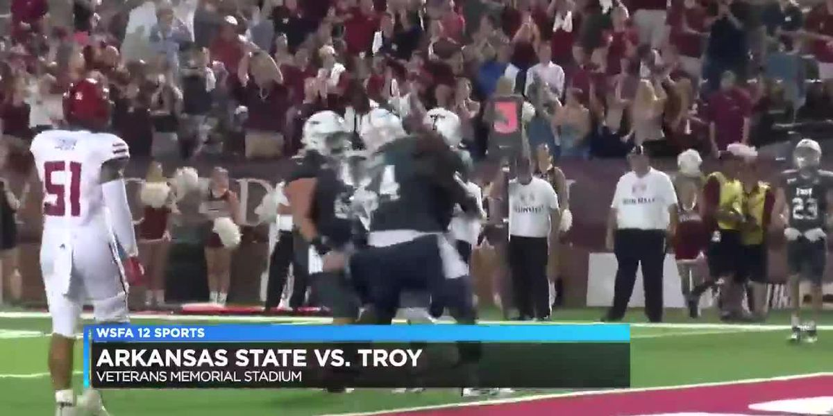 Troy drops SBC opener to Arkansas State