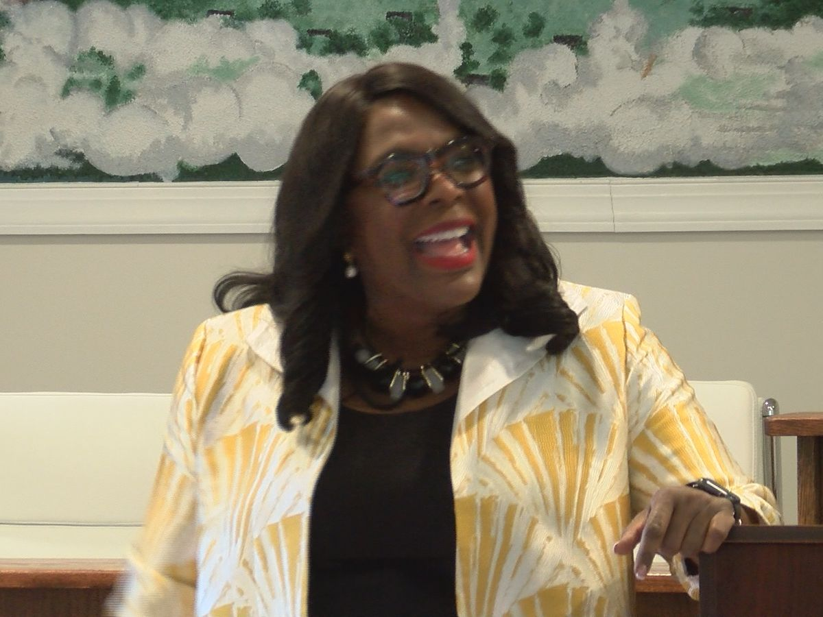 Rep. Terri Sewell talks hot topics at town hall
