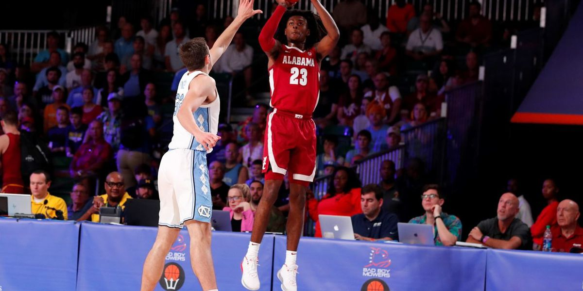 John Petty excelled as a shooter and scorer for Alabama in their loss to North Carolina at the Battle 4 Atlantis.  (Photo: University of Alabama Athletics.)