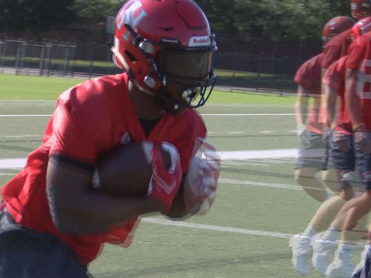 Huntingdon opens fall practice looking to fill in spots defensively