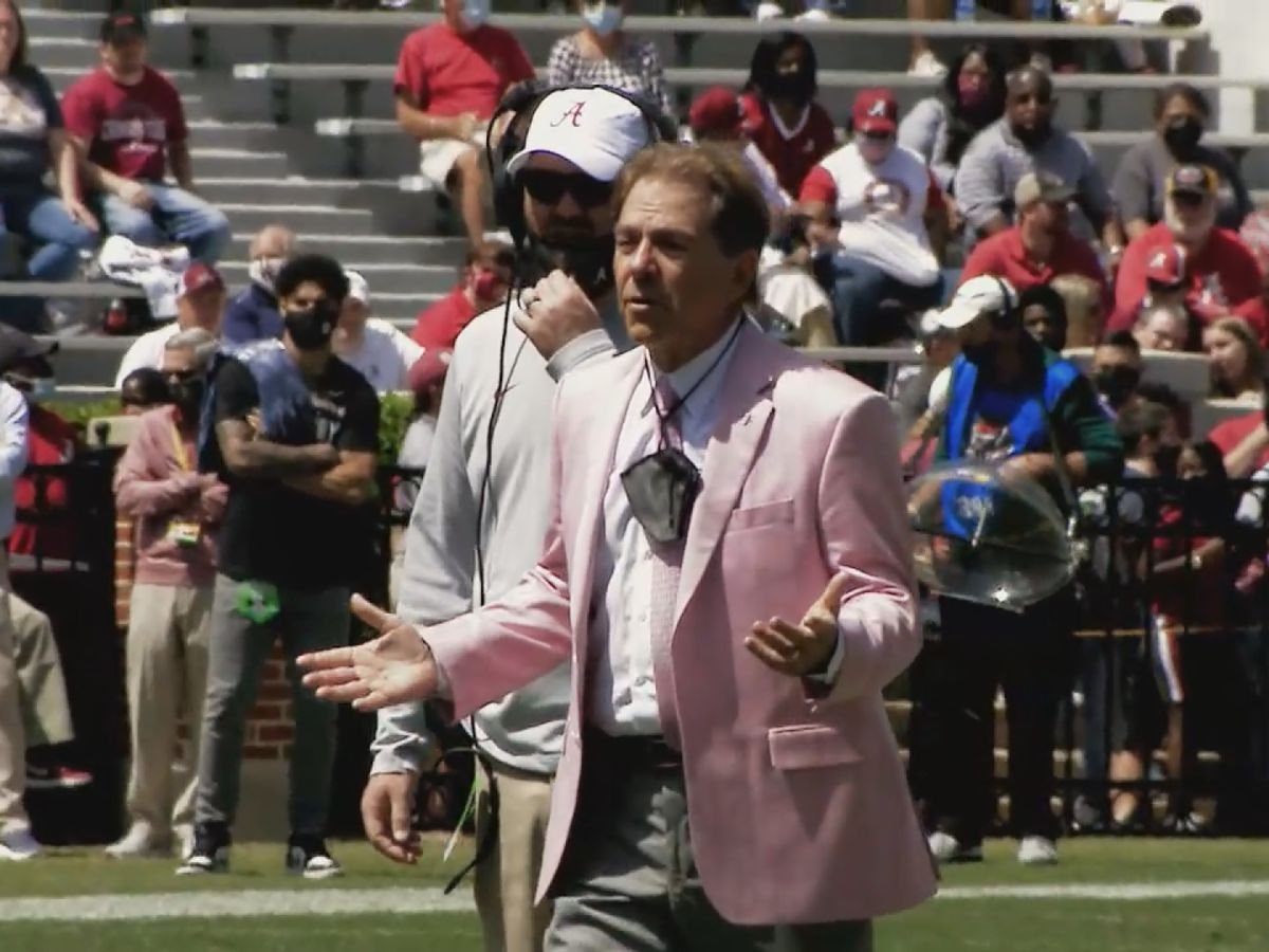 Alabama wraps up spring practice with A-Day Game, steak and beans