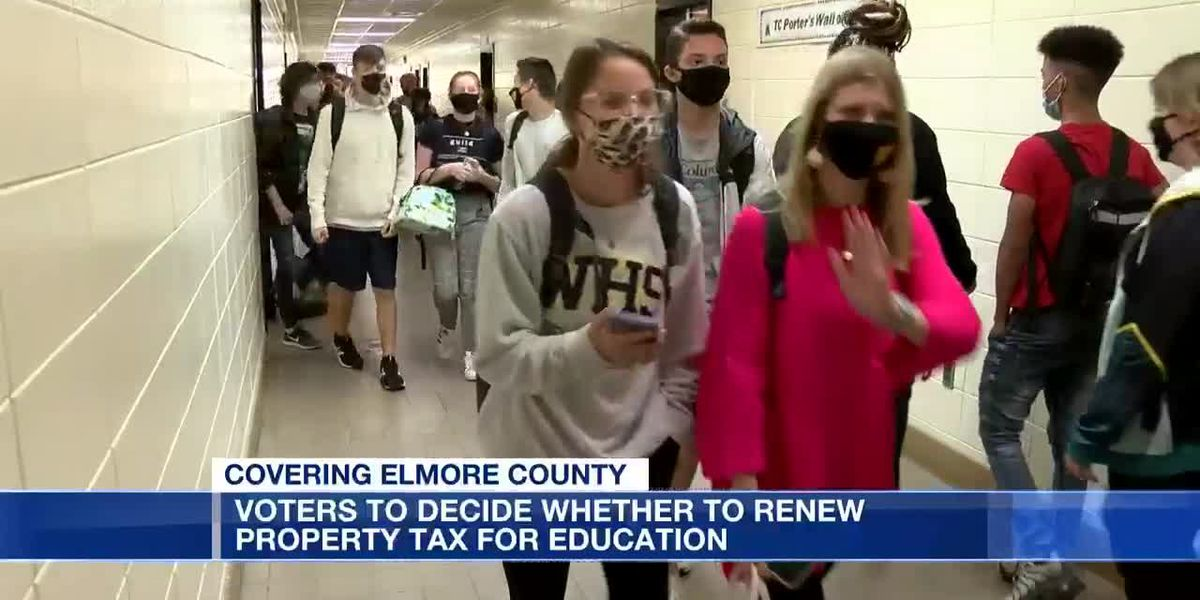Elmore County property tax renewal for schools up for renewal