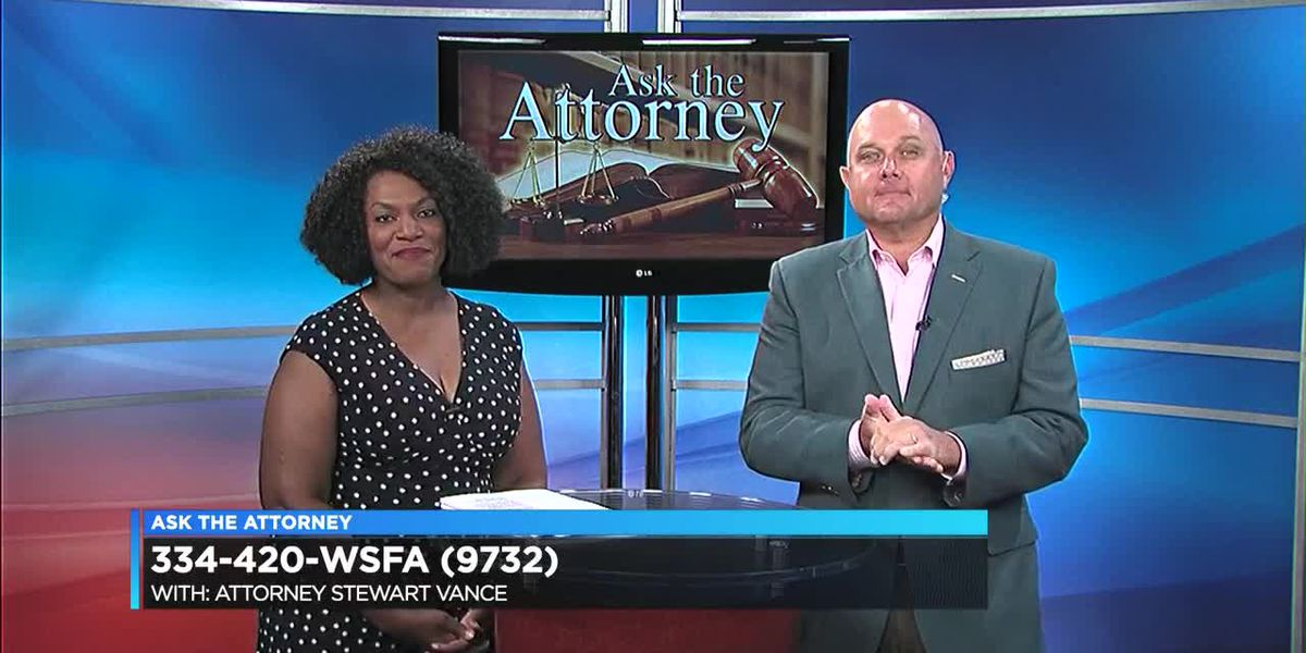 Ask the attorney - Stewart Vance Part 1