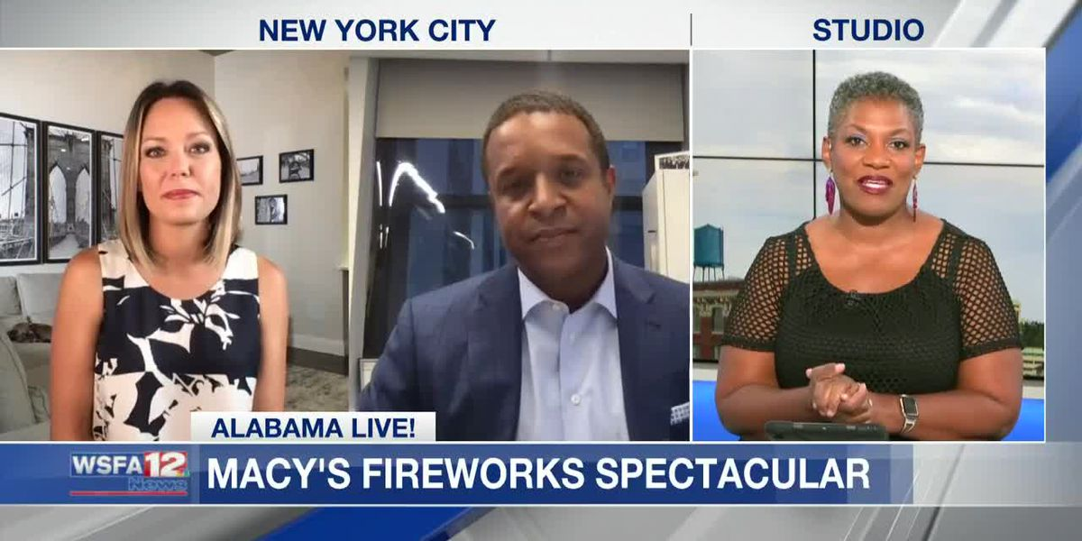 Macy's 4th of July Fireworks Spectacular to air on WSFA