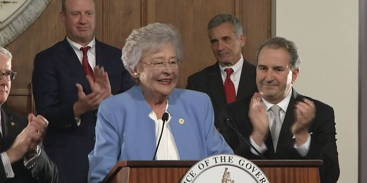 Gov. Ivey discusses education, infrastructure, and budget proposals in address