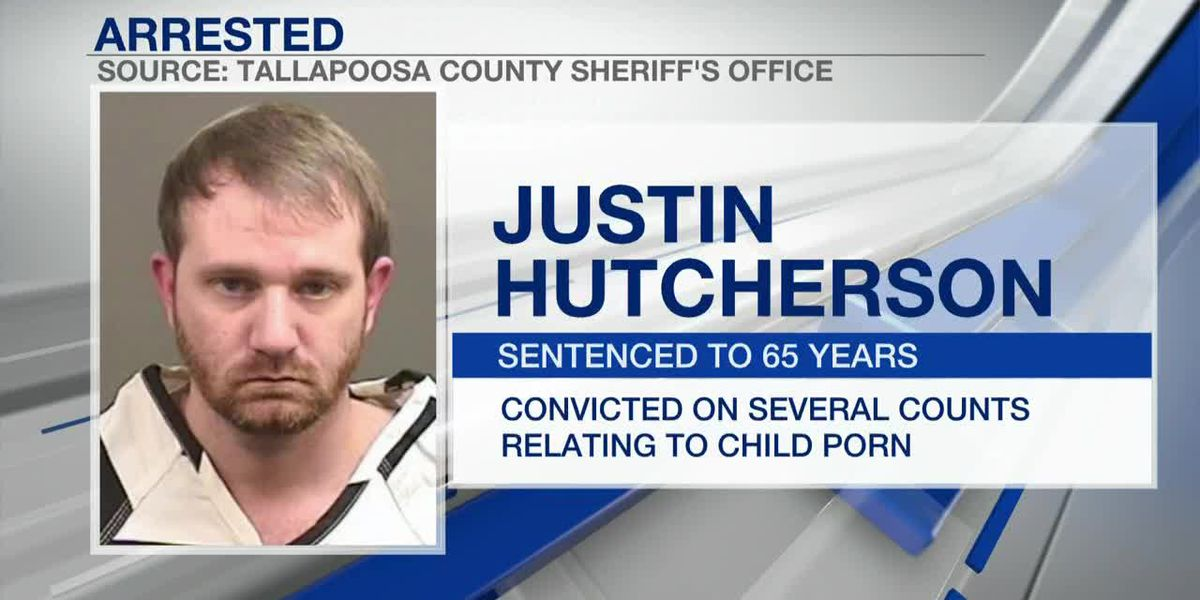 Tallapoosa County man sentenced in child porn case