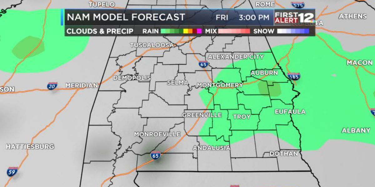 FIRST ALERT: Dry tomorrow and then more rain