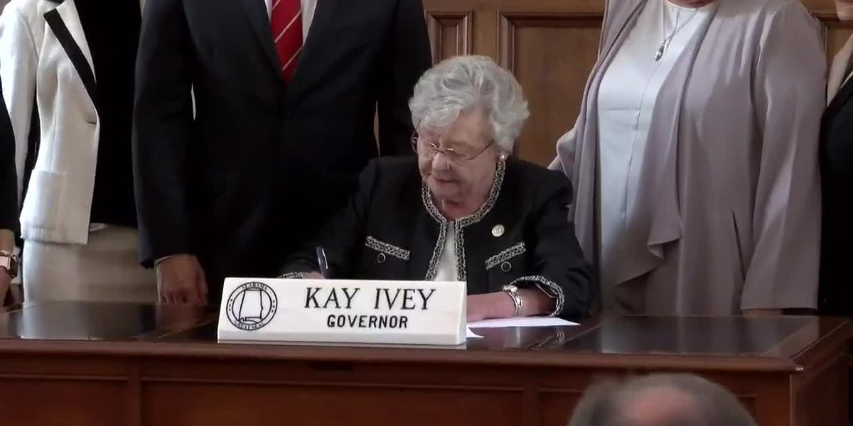 Gov. Ivey signs bill creating study commission on medical marijuana