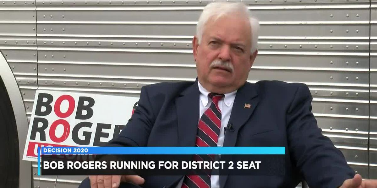 Bob Rogers running for District 2 seat