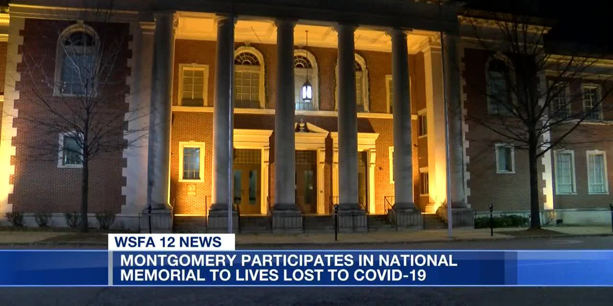 Montgomery participates in national COVID-19 memorial