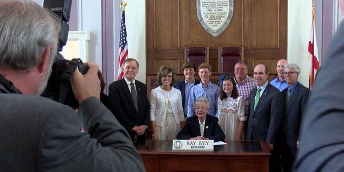 Governor ceremonially signs juvenile sex offender bill