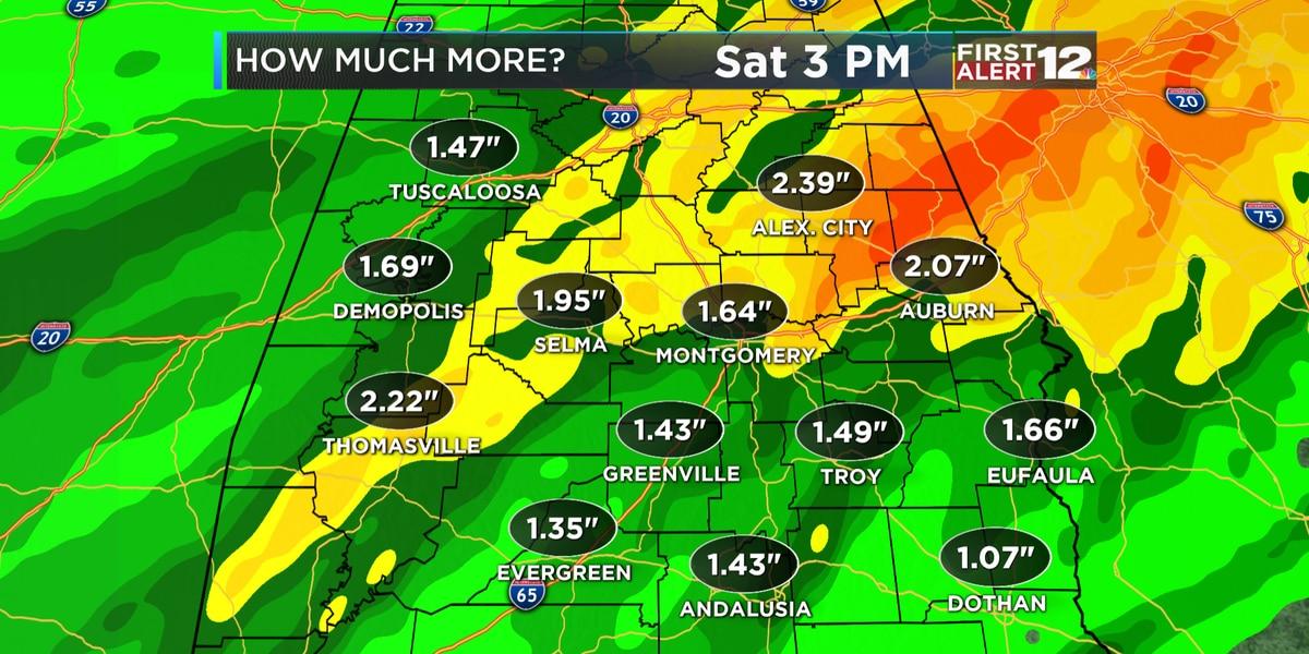 First Alert: Heavy rain returns Thursday night into Friday