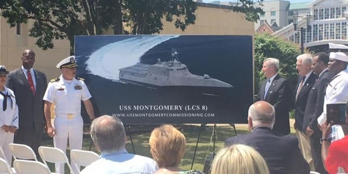 Sunday deadline for free tickets to USS Montgomery commissioning