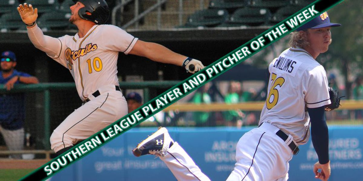 Biscuits sweep Southern League Player, Pitcher of the Week