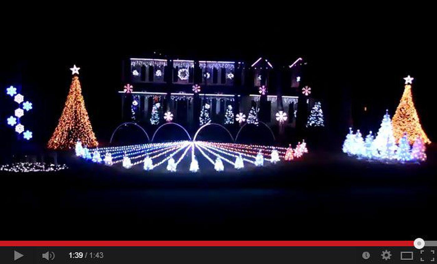 viral war eagle christmas light show - Christmas Light Show Youtube