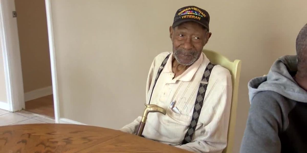 91-year-old veteran gets help finding a new home