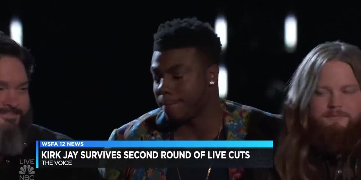 Kirk Jay survives second round of cuts on 'The Voice'