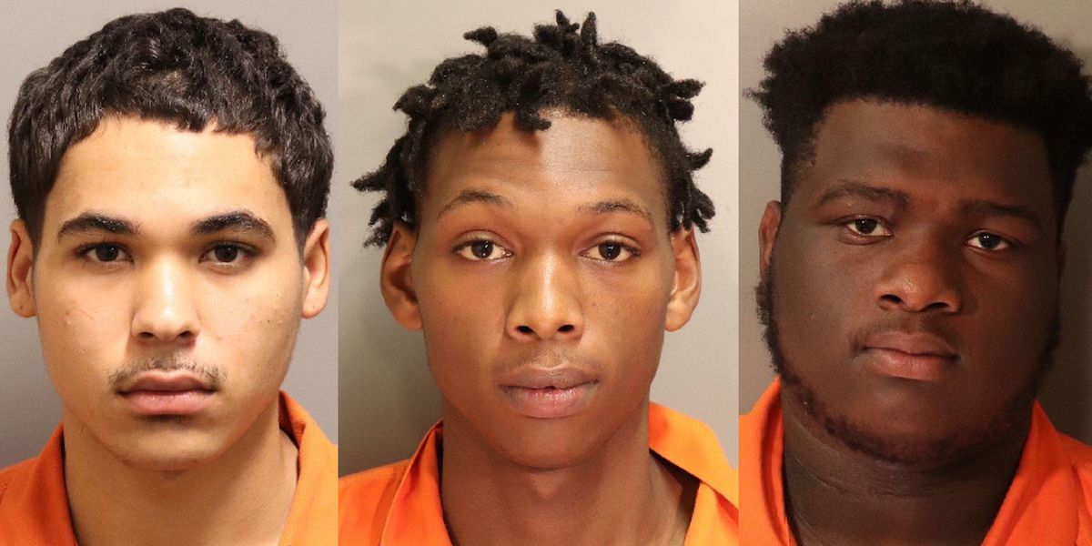 3 arrested in armed robbery at AUM