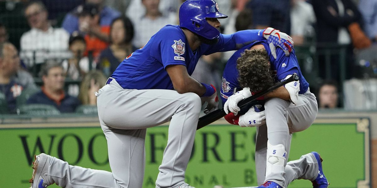 Child struck by line drive at Cubs-Astros game
