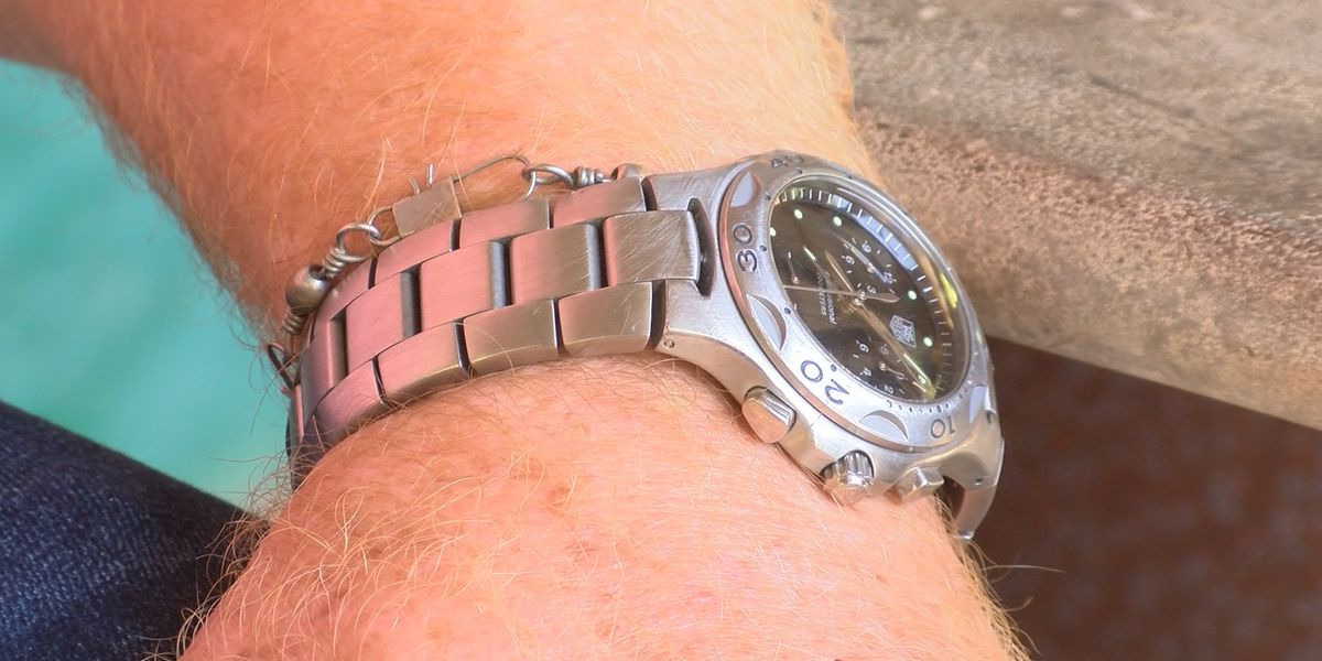 Father's lost watch returned to son 12 years later