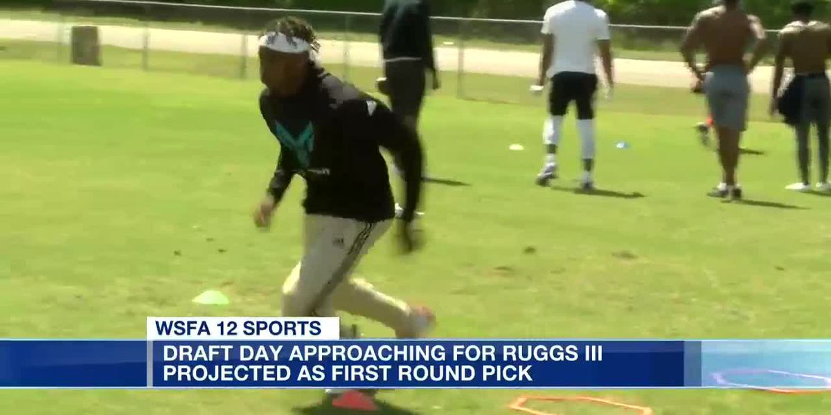 Draft day approaching for Henry Ruggs III
