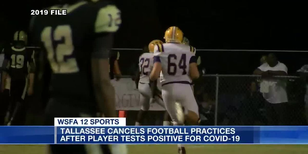 Tallassee cancels football practices after player tests positive for COVID-19