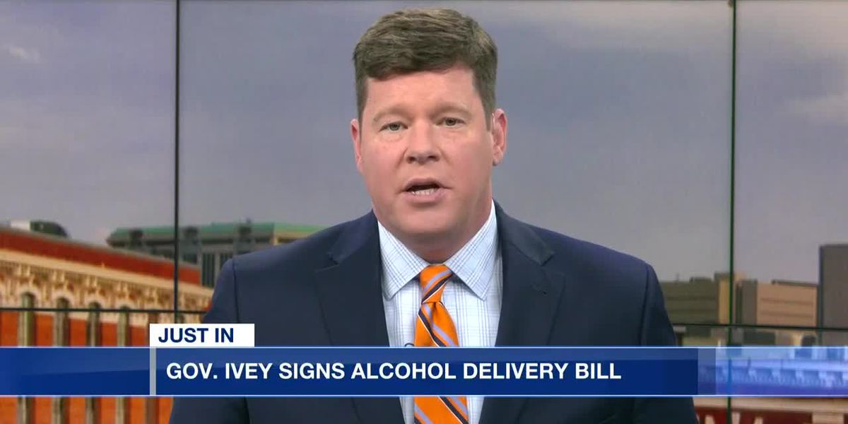 Gov. Ivey signs alcohol delivery bill into law