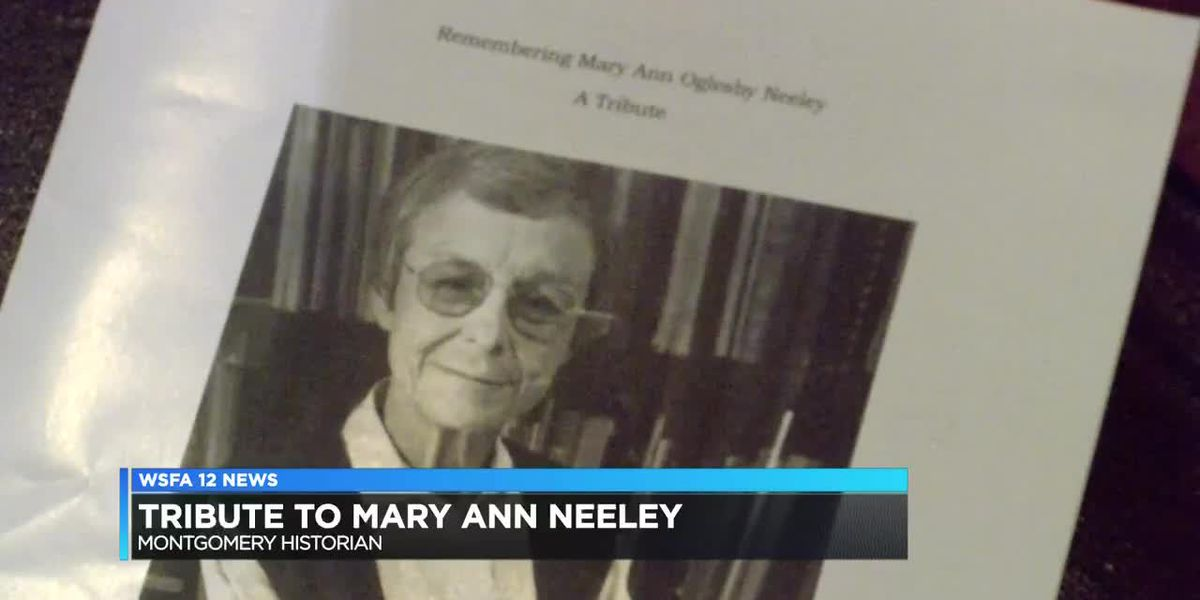 Tribute honors late Montgomery historian Mary Ann Neeley