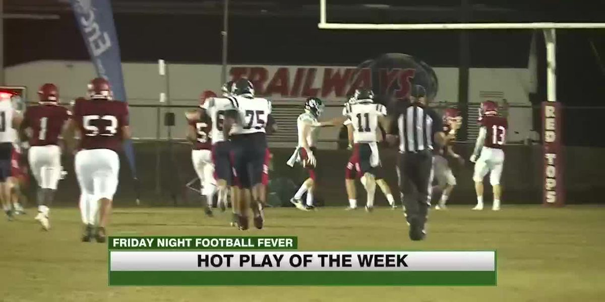 Second round of playoffs: Hot Play of the Week