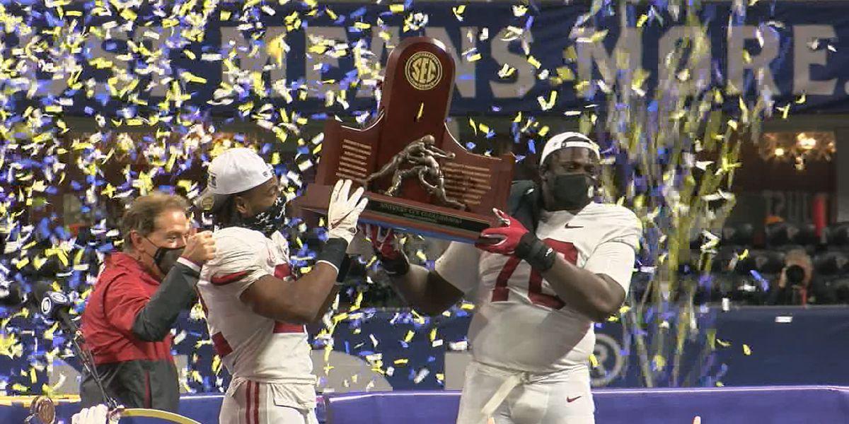 No. 1 Alabama tops No. 7 Florida for SEC Championship win