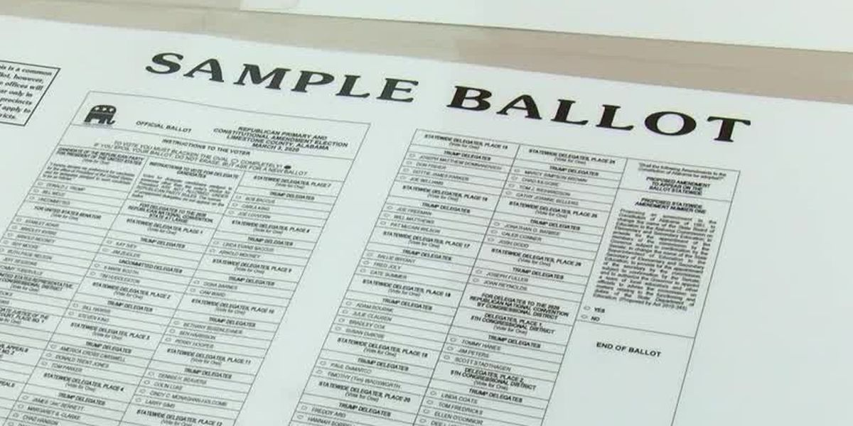 How to apply for an Alabama absentee ballot for July 14