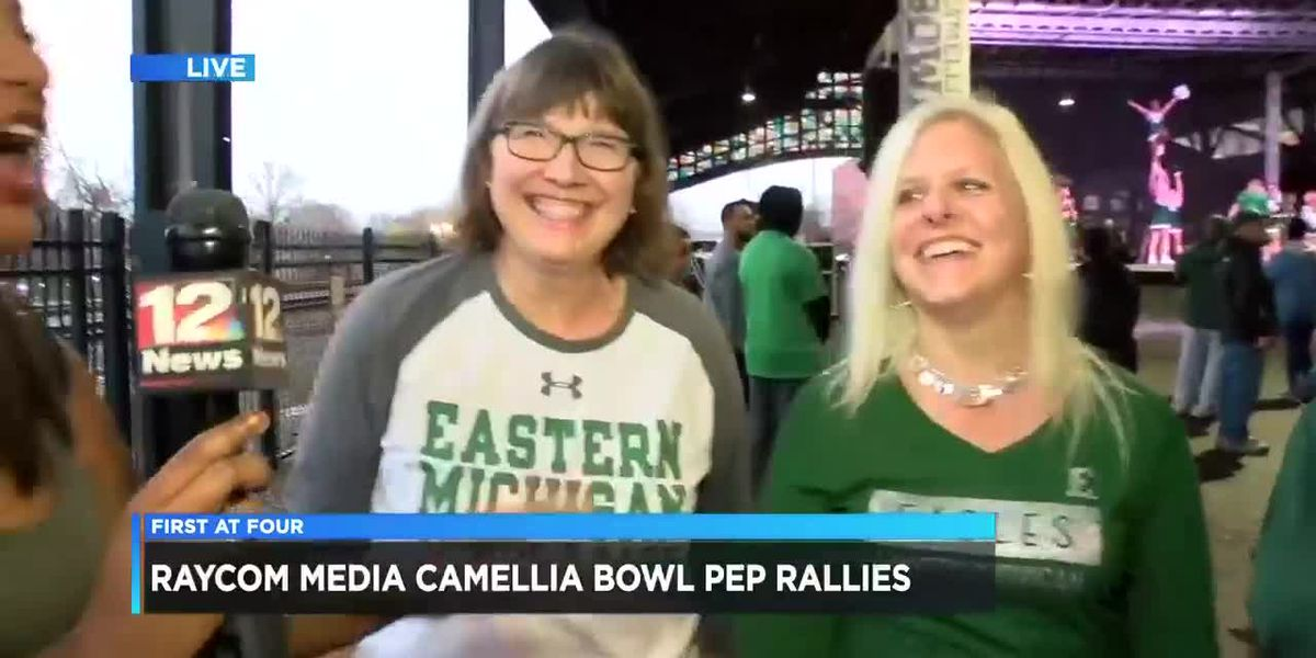 Fans ecstatic at Camellia Bowl pep rally