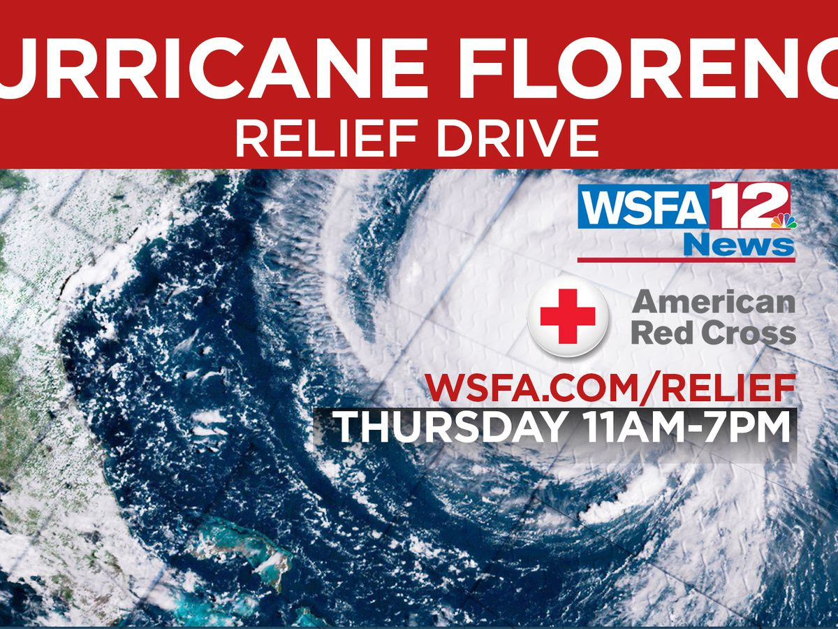 WSFA 12 News, American Red Cross to hold relief drive